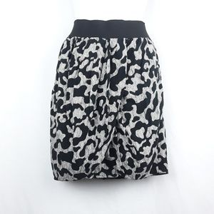Leopard Print Pencil Wrap Skirt